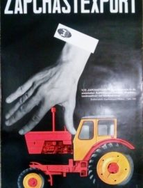 «ZAPCHASTEXPORT» 90х60 Внешторгиздат 1960г.