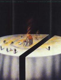 Рекламный плакат фильма «Жертвоприношение»