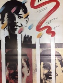 Рекламный плакат фильма «Фанни и Александр»105х65 Художник А.Чанцев 1989г